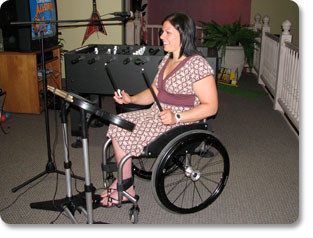 Photo: people in wheelchair © posh #10773985