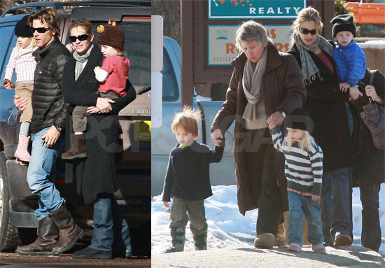 Photos of Julia Roberts and Danny Moder in New Mexico with Hazel ...