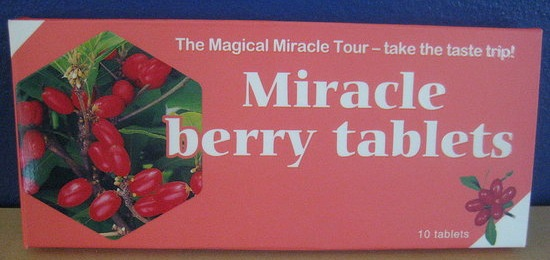 how to eat miracle berry tablets