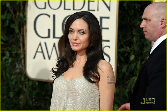 Golden Globes Angelina Jolie. 66th Annual Golden Globes