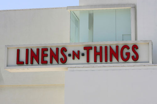According to The New York Post, the end of Linens 'n Things is near and
