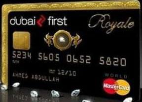Black card for millionaires