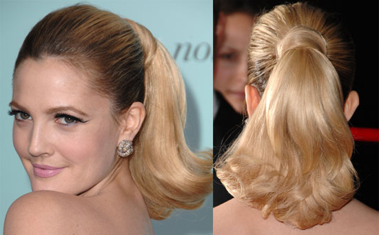 Form your ponytail, then find out the key tips to creating this style when
