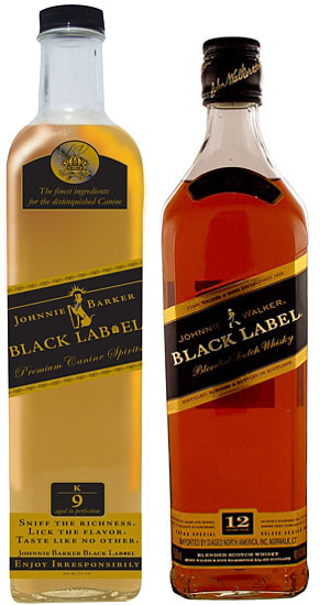 similar to a like-named product, Johnnie Walker Black Label.