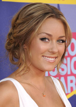 Lauren Conrad at MTV VMAs: Hair and Makeup | POPSUGAR Beauty