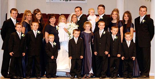 oldest chid wedding