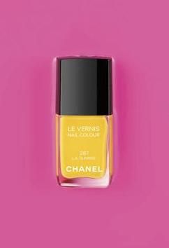 Pop Yello LA Sunset Chanel Nail Polish
