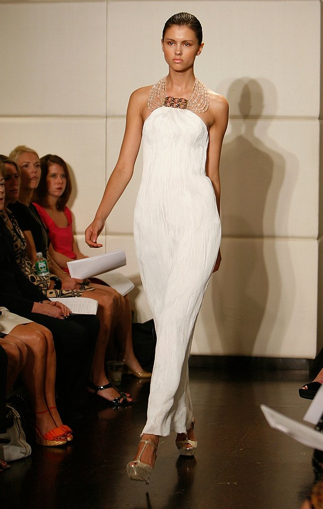 Badgley Mischka Resort 2009 Gallery | coutorture - :  necklace white coutorture cream