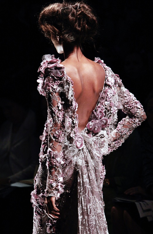 Elie Saab Goes Down The Only Road He's Ever Known | coutorture -