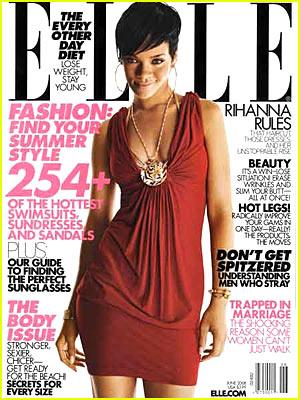 elle magazine cover girl