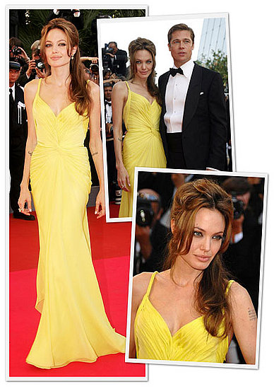 angelina jolie hair colour. skin tone and hair color