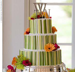 Inspiration Green Wedding Cakes photo 820467-1