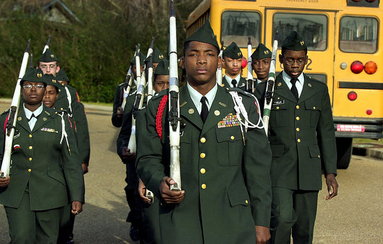 As JROTC (Junior Reserve Officers' Training Corps) enters its last (and ninetieth) year in San Francisco, a non-binding measure intended to show support for the program has qualified for the November ballot. Mayor Gavin Newsom backs the efforts to save the high school program. In 2006 the SF school board decided to stop JROTC, even though there were no complaints, mostly because they disagreed with the military's policy on gay and lesbian soldiers.