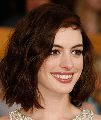 Anne Hathaway Oscars 2009 Hair. My, my, Anne Hathaway,