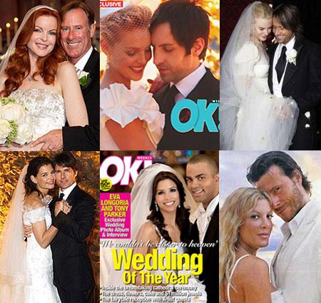 A-List Celebrations: Celebrity Wedding Trivia | Brad ...