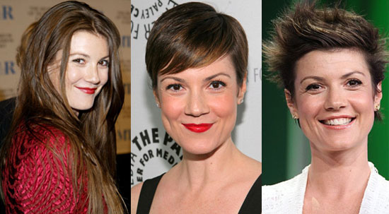 Celebrity short hair cuts for women