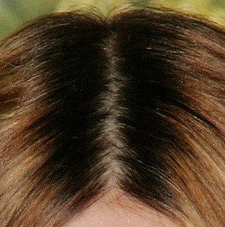 Natural hair color back