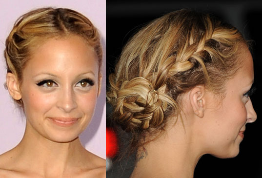 you will learn how to create this style from superstar Nicole Richie.