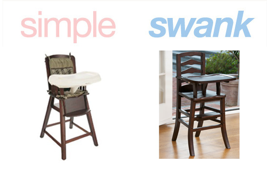 Simple or Swank Wooden High Chairs POPSUGAR Moms