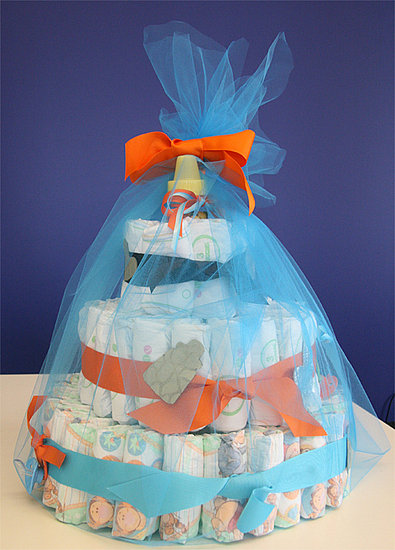 To see how to make a diaper cake, read more.