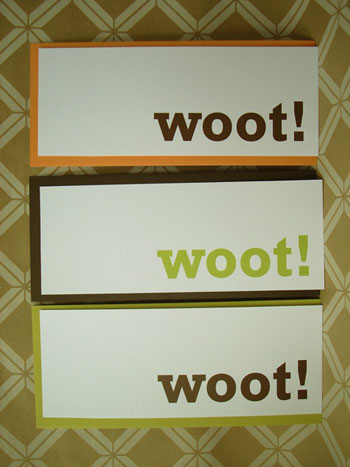 Woot Note Set: Totally Geeky or Geek Chic? | cards, poll, Totally Geeky or Geek Chic | geeksugar - Technology, Gadgets, & How Tos. :  woot geeky