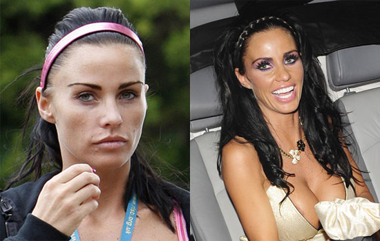 katie price without makeup