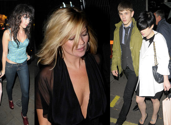Photos of Kate Moss, Daisy Lowe, Russell Brand, Kelly Osbourne and ...