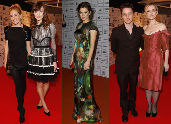 Photos of Keira Knightley, Sienna Miller, Anna Friel, James McAvoy and