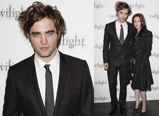 robert pattinson and kristen stewart twilight premiere. Robert and Kristen Bring