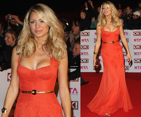 Dress on Tess Daly  Temperley London  2008 National Television Awards