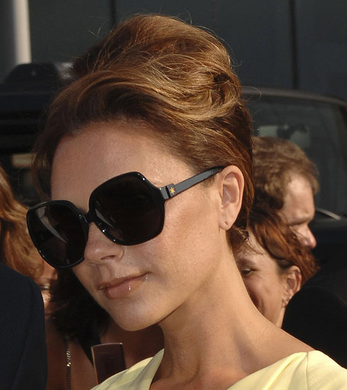Victoria Beckham looked like she was taking inspiration from Audrey Hepburn