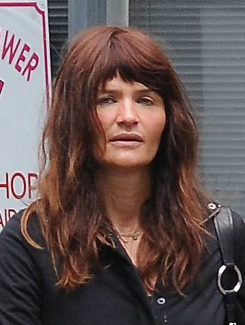 Posted under: Red Hair,Short Hair Supermodel, Helena Christensen was showing