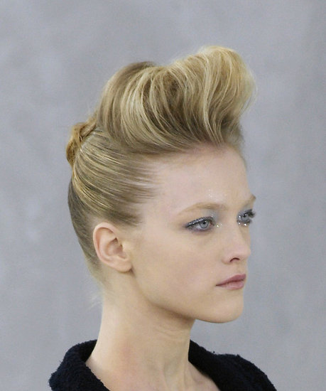 The quiff combines the 1950s pompadour hairstyle, the 50s flat-top,