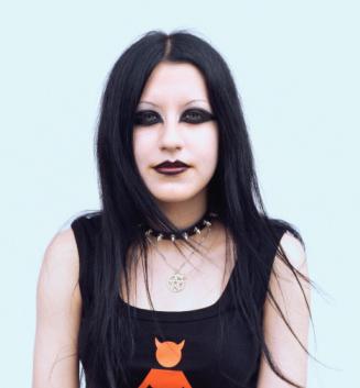 Goth Makeup on Goth At Lanvin  Gucci  Balenciaga  Goth And Gothic Make Up Glossary