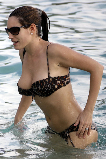 For a beach bikini body, like Kelly Brook, Kate Moss or Cameron Diaz,