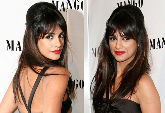 Photos of Penelope Cruz's Sister Monica Cruz at Spring Summer 2009 Mango