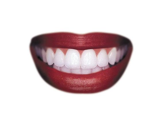 makeup teeth. Yellow teeth + bright lips
