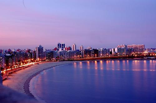 The Rambla of Montevideo