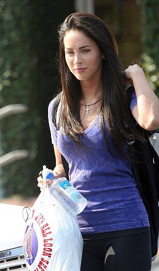 megan fox before. Megan Fox sporting her gift