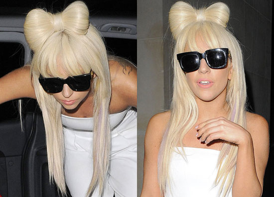 As original as this style seems, Lady GaGa isn't the first to don this 'do.