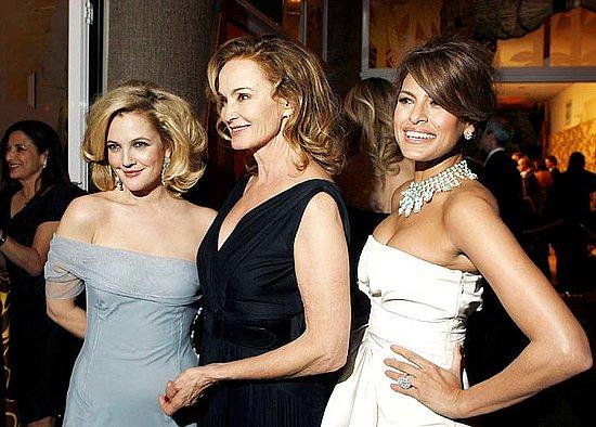 Drew Barrymore, Jessica Lange and Eva Mendes