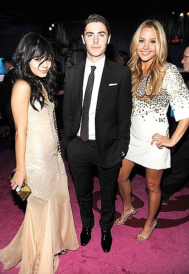 zac efron and vanessa hudgens golden globes