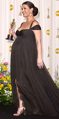 catherine zeta jones pregnancy