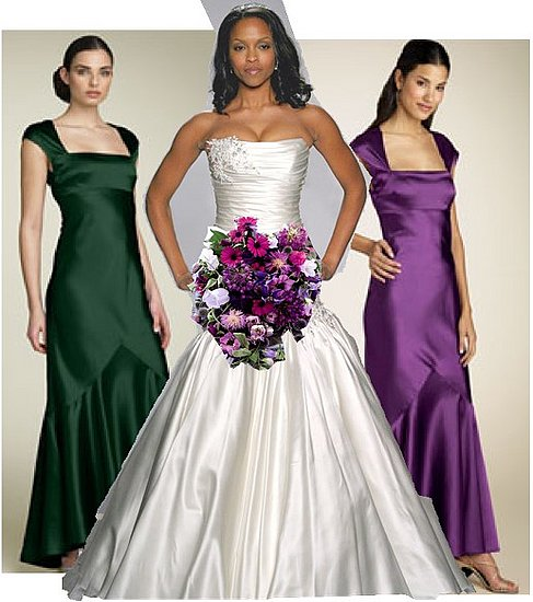 green and purple wedding dress I am marrying my soul mate in September and