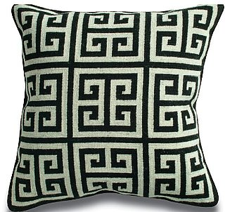 Steal of the Day: Jonathan Adler Greek Key Pillow | CasaSugar - Home & Garden. :  pillow jonathan adler