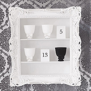 Steal of the Day: Ruffle Frame Shelf | Brocade Home, shelf, Steal of the Day | CasaSugar - Home & Garden
