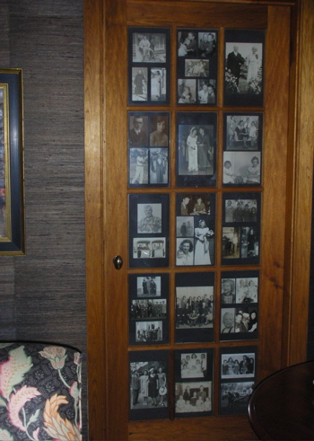 Cool idea door panes become picture frames popsugar home - Cool interior doors for home ...