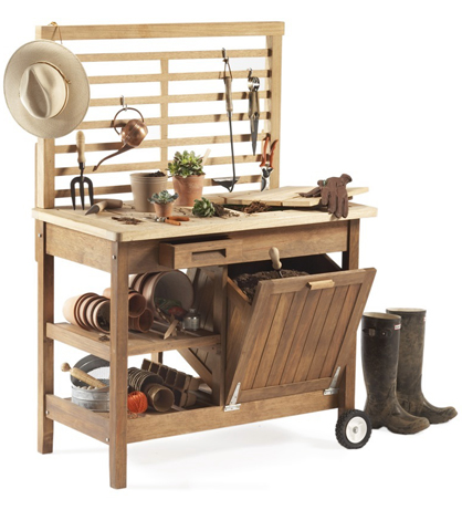 Steal of the Day: Deluxe Potting Bench | POPSUGAR Home