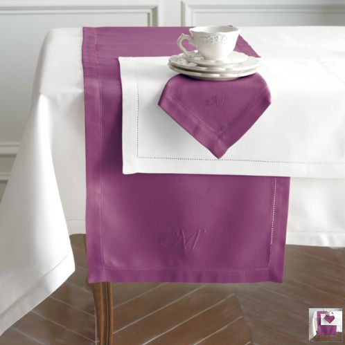 Steal of the day jcpenney hemstitch table linens for Where can i buy table linens