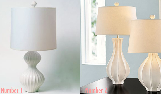 Less Or More Mod Table Lamps